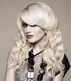 Gorgeous Platinum Blonde Hair #60D   | #hairstyle | #hairexensions |