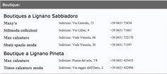Boutique #LignanoSabbiadoro http://www.lignanosabbiadoro.com/negozi-e-shopping-lignano