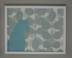 I love this idea... Could use this background with different silhouettes   with a silhoutte of toons