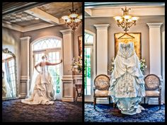 Stunning Wedding Gown and bride looking out window photo. @BridesClub    #TacomaSpringWeddingExpo