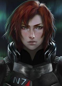 Commander Shepard by Jennifer-Manzanera