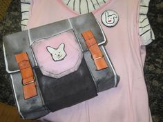 Borderlands 2 Tiny Tina Bag, Shirt, and Pin by mangoloo.deviantart.com on @DeviantArt