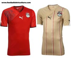 Egypt 10/12 Puma Kits Launched | 10/11 Kits | Football Shirt Culture.com