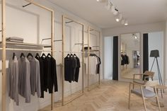 Sunspel Store by Humphrey + Edwards, Melbourne Australia fashion