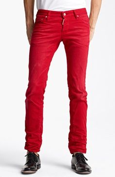 Dsquared2 Slim Fit Jeans available at  Nordstrom Every Man 4501488f1650
