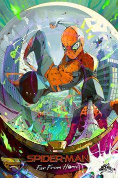 Amazing Spiderman, Art Spiderman, Batman Art, Batman Comics, Comic Movies, Comic Books Art, Comic Art, Marvel Art, Marvel Heroes