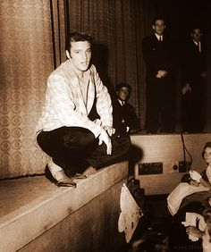Rarely seen photo of Elvis Presley