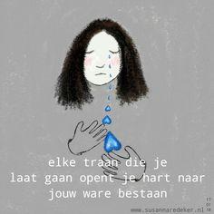 elke traan die je laat gaan opent je hart naar jouw ware bestaan. . . every tear that you let go opens your heart to your true existence. . . #haiku #zutphen #jedoethetinde8erhoek #craniosacraal #gedicht #illustration #poemart #drawingwords #openhart