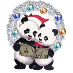 Discover & Share this Merry Christmas GIF with everyone you know. GIPHY is how you search, share, discover, and create GIFs. Merry Christmas Animation, Merry Christmas Gif, Christmas Scenes, Christmas Pictures, Panda Movies, Panda Bear Tattoos, Panda Drawing, Panda Wallpapers, Panda Art
