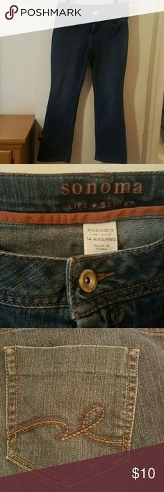 Fabulous Sonoma Jeans Fabulous Sonoma Jeans....Size 73% Cotton 26% Polyester 1% Spandex Sonoma Jeans Boot Cut