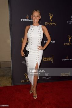 Dancer Kym Johnson attends the Television Academy's Performers Peer Group…
