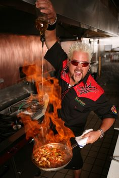 Diners, Drive-Ins and Dives  | FOOD Tacos and Tots Season 17 begins with Guy visiting a Denver bar known for its pastrami sandwich, homemade tater tots and pork rinds. Also: a neighborhood joint in Tacoma, Wash., serves up pork-shoulder tacos, elk sliders and tater tots stuffed with Parmesan cheese.