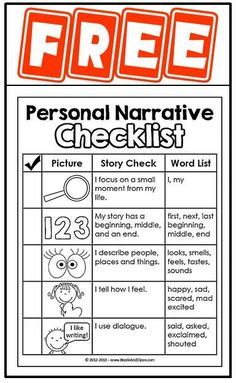 Personal essay topics FREE printables for writers workshop or literacy centers! Includes writing topics, anchor chart, writers checklist, graphic organizers & more! Writing Topics, Writing Strategies, Writing Lessons, Writing Resources, Writing Activities, Writing Prompts, Writing Ideas, Writing Mentor Texts, Informational Writing