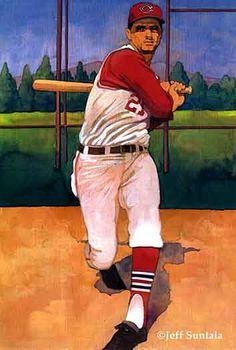 Rocky Colavito, Cleveland Indians by Jeff Suntala. Baseball Painting, Baseball Art, Baseball Players, Baseball Stuff, Diamonds In The Sky, Sabrina Carpenter, Sports Art, Cleveland Indians, Art Inspo