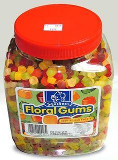 Squirrel Floral Gums - Full Jar 2.2kg   eBay