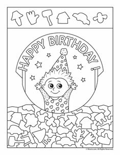 Happy Birthday Hidden Picture Activity Pages 12 birthday hidden picture activity pages, free to print and color. Hidden Picture Games, Hidden Picture Puzzles, Happy Birthday Parties, Birthday Fun, Hidden Pictures Printables, Solid Color Nails, Puppet Patterns, Hidden Objects, Coloring Pages