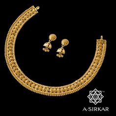 Flowers fashion thoughts Ideas for 2019 Gold Jewellery Design, Gold Jewelry, Gold Necklace, Simple Necklace, Gold Set, Jewelry Patterns, Necklace Designs, Indian Jewelry, Wedding Jewelry