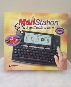 Cidco Mail Station Networking Foritied With Yahoo Emailing Home Travel Device | eBay