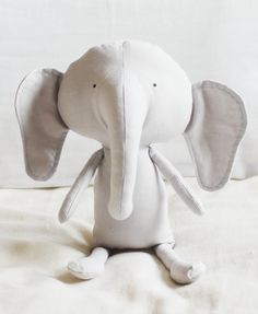 Elephant Sewing Pattern Softie Plush Toy Cloth Doll Pattern PDF. $10.00, via Etsy.