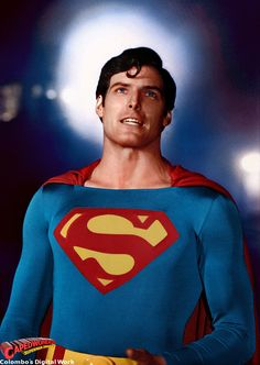 DC Comics in film - 1978 - Superman - Christopher Reeves as Superman Superman Movie 1978, First Superman, Superman Love, Superman Art, Superman Family, Superman Man Of Steel, Superman Actors, Superman Pictures, Christopher Reeve Superman