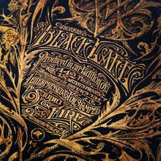 A foil stamp detail of the Black Lake certificate of authenticity by @aaronhorkey @thevacvvm