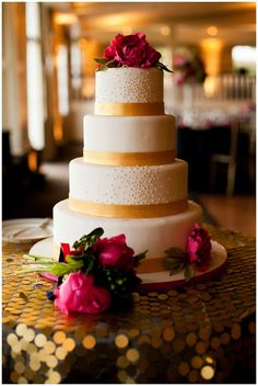 kate spade inspired wedding cake by ana parzych for jubilee events. photography by bruce plotkin.