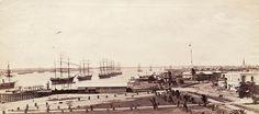 The Rangoon waterfront c. 1875.myanmar