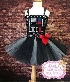 Darth Vador Inspired Tutu Dress. Star Wars Tutu Dress. Party Dress. Comic Con. Halloween. by LisasTutus on Etsy