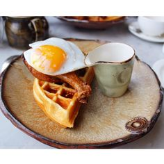 [I ate] duck and waffle at Duck And Waffle restaurant in London #food #foodporn #recipe #cooking #recipes #foodie #healthy #cook #health #yummy #delicious
