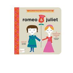 ROMEO + JULIET BOARD BOOK
