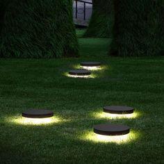 Urban bollard light / garden / contemporary / metal SKIFV Modular Lighting Instruments