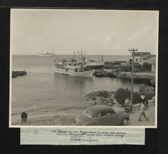 Love this old one of George Town Dock in Grand Cayman! Grand Cayman Island, Cayman Islands, George Town, National Archives, Old Ones, Us Images, Hanging Out, Caribbean, Trips