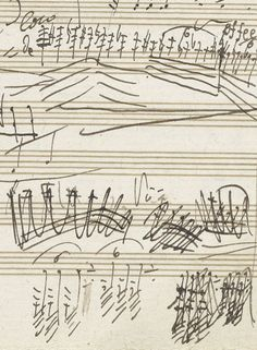 loverofbeauty:  Musical notation by Ludwig van Beethoven