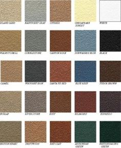 rustoleum deck restore color chart: Behr solid concrete stain color chart pinteres