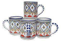 S/4 Tabarka Coffee Mugs