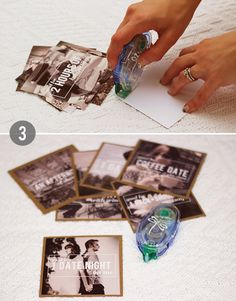 Bubby and Bean ::: Living Creatively: DIY Tutorial >>> Make A Personalized Gift Coupon Set Using Your Favorite Photos