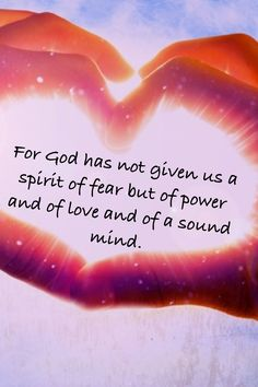 2 Timothy – For God has not given us the spirit of fear; but of power, and of love, and of a sound mind. Thy Word, Word Of God, Bible Scriptures, Bible Quotes, Faith Quotes, Jesus Copy, Adonai Elohim, Spirit Of Fear, Religion