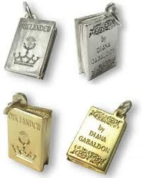 Outlander Book Charm #outlander #gabaldon #book #lit