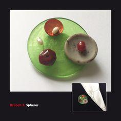Brooch 3. Spheres