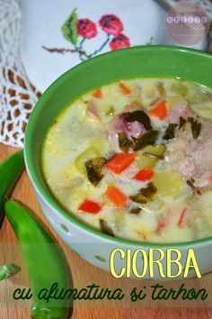 Romanian Food, Dukan Diet, Lidl, Supe, Cheeseburger Chowder, Bacon, Recipies, Traditional, Recipes