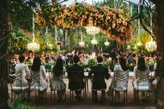 A Greenery-Filled Hawaiian Wedding in a Historic Sugar Mill Chandelier Wedding Decor, Flower Chandelier, Wedding Decorations, Wedding Types, Wedding Vendors, Lgbt Wedding, Wedding Ideas, Maui Weddings, Hawaii Wedding