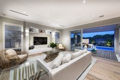Family/Living at the Islander by Webb & Brown-Neaves
