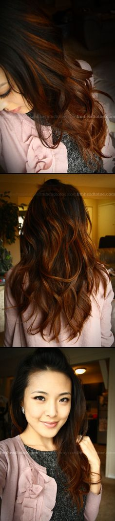 """INSPIRATION :: Love this """"natural"""" ombre look.   #ombrehair #haircolor"""