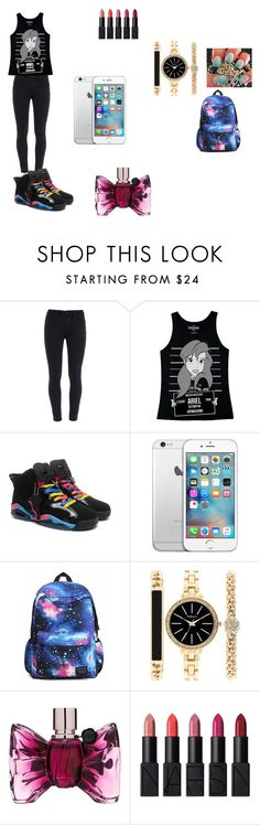 """""""yes outfit"""" by niah123bestie on Polyvore featuring Paige Denim, Disney, Style & Co., Viktor & Rolf and NARS Cosmetics"""