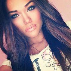 Trendy hair color highlights and lowlights eyebrows ideas Kiss Makeup, Love Makeup, Makeup Looks, Hair Makeup, Makeup Eyebrows, Eye Brows, Neutral Makeup, Prom Makeup, Perfect Makeup