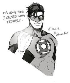 Hal Jordan by axiom-lanterns tumblr:axiom-lanterns