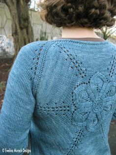 Looking for your next project? You're going to love Flower Cardigan (adult version) by designer ewelina123.