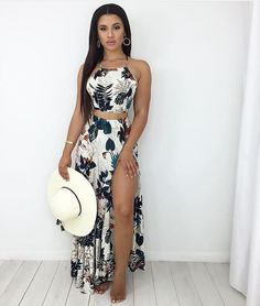 Pin by Bree Anna on Spring/Summer Fashion Trends in 2019 Cute Summer Outfits, Spring Outfits, Trendy Outfits, Summer Dresses, Summer Fashion Trends, Spring Summer Fashion, Fashion Ideas, Mode Outfits, Mode Style