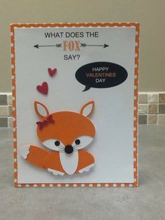 Christi's Creative Crew: What Does The Fox Say?