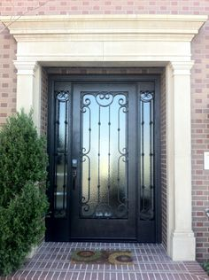 Here is a single door retro we custom designed for our client to fit perfectly in their doorway